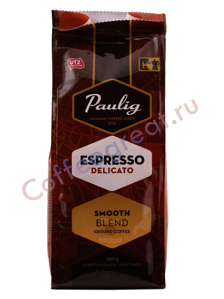 Paulig кофе молотый