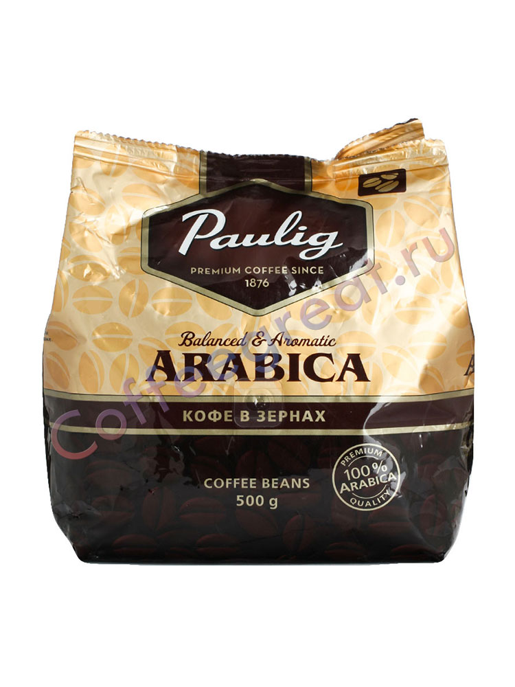 Paulig кофе зёрнах