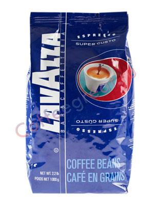 Кофе Lavazza в зернах Super Gusto 1кг в.у.