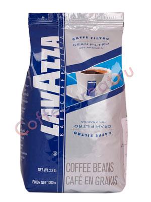 Кофе Lavazza в зернах Gran Filtro 100% Arabica 1 кг в.у.