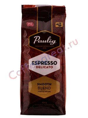 Кофе Paulig Delicato в зернах 250 гр