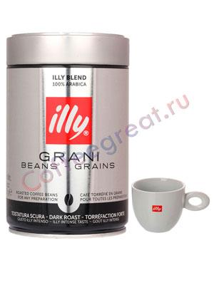 Illy Кофе в зернах Caffe Espresso (Темная обжарка)